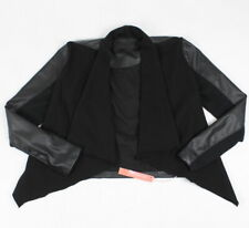 Blank NYC Youth Girls Private Practice Jacket Black L New