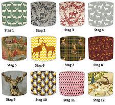 Pantallas de Lámpara para Combinar Vintage & Retro Deer Ciervo Pintado & Cojines