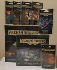 Arkham Horror The Card Game The Dunwich Legacy Expansion With All  Mythos Packs