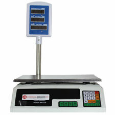 Scale Food Digital Computing Produce Meat Deli Weight Counting 60lb Acs-30