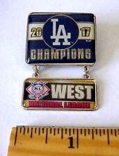 2017 LA Los Angeles Dodgers NL West Division Champions Postseason Dangle Pin