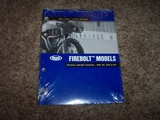 2004 Buell Firebolt Motorcycle Factory Parts Catalog Manual 99574-04Y