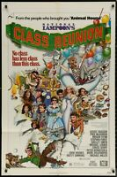 National Lampoon Class Reunion ORIG 1982 1-SHEET MOVIE POSTER 27 x 41 Authentic