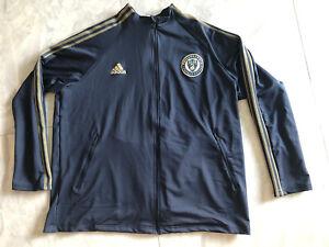 NWT Adidas PHILADELPHIA Union Anthem Soccer 3 Stripes Track Jacket - 2XL FI1442