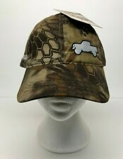 Kryptek Highlander Camouflage CAMO Hat Mesh Cap Strapback Truck Embroidery OSFM