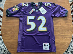 Men's Mitchell & Ness Ray Lewis 2000 Throwback Jersey Size Medium Stitched