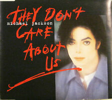 "MICHAEL JACKSON ""THEY DON'T CARE ABOUT US""  cds 6 tracks"