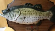 Gemmy Big Mouth Billy Bass- The Singing Sensation Motion Activated 1999 Vintage