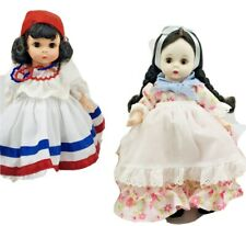Madame Alexander Dolls Lot Of 2 Dominican Republic And Argentine Stands Boxes