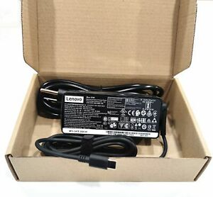 Genuine OEM 65W USB-C Charger Type-C Adapter For Lenovo ThinkPad X1 Carbon Yoga