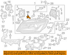 AUDI OEM 11-15 A8 Quattro-Headlight Headlamp Bulb N10320106