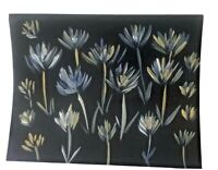 11x14 Original hand-painted Floral acrylic painting on 140lb paper