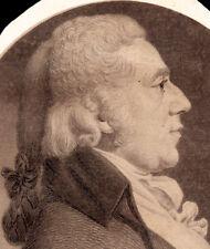 Charles Saint-Memin LEMUEL POMEROY Muskets engraving Pittsfield Massachusetts.