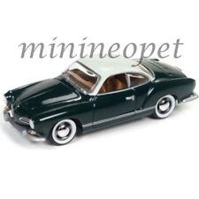JOHNNY LIGHTNING JLCG007 B 1964 VW VOLKSWAGEN KARMANN GHIA 1/64 ROULETTE GREEN