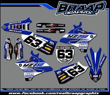 Yamaha YZ-250 2015-2016-2017-2018 Graphics kit BRAAP