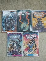 Dark Nights Death Metal Robin King Secret Origin Multiverse Who Laughs DC Comics