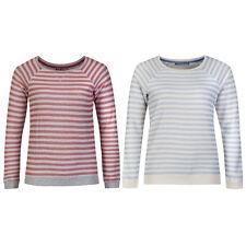 Marks & Spencer Womens Cotton Rich Striped M&S Sweatshirt Jumper New Sweater Top