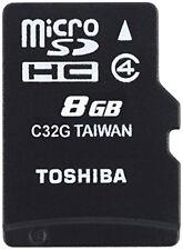 Toshiba Thn-m102k0080m2 Micro SD Catégorie 4 8gb C/à