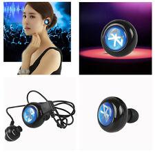 NEW Mini Wireless Stereo Bluetooth Headphone Headset Earphone for iPhone SAMSUNG