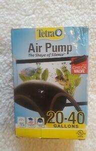 Tetra Air Pump 20-40 Gallon Aquarium Fish Tank Quiet&Powerful Airflow UL Listed