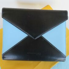 Kenneth Cole New York Leather Planner Binder Snap Fits Compact Franklin Covey