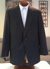 Hickey Freeman Gray 100% Wool 2 Pc Mens Suit Sz 42 43 44 R Excellent!