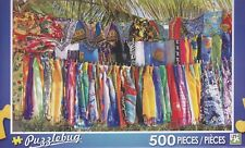 New Puzzlebug 500 Piece Puzzle ~ Standshop on the Beach
