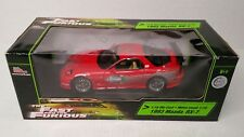 Rare Racing Champions Ertl The Fast And The Furious 1993 Mazda RX7 1:18 Red