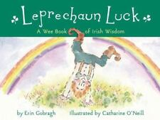 LEPRECHAUN LUCK A WEE BOOK OF IRISH WISDOM By Gobragh Erin - Hardcover BRAND NEW