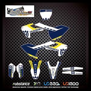 Husqvarna FC 125 250 450 2016 2018 Kit White Blue Yellow (905)
