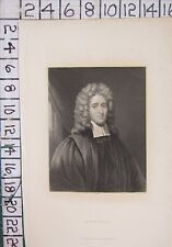 C1850 ANTIQUE PRINT ~ Révérend John Howe