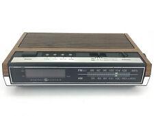 Vintage GE General Electric Digital Alarm Clock Radio 7-4630D