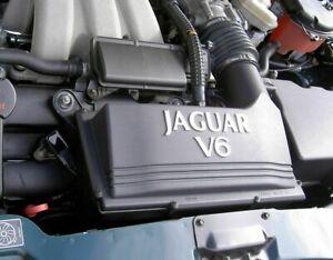 Jaguar X-Type V6 Petrol Chrome Engine Bay Lettering