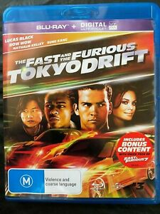 The Fast and the Furious: Tokyo Drift - 3 - Blu Ray - Action -Free Postage -Used