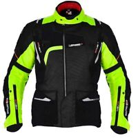 Oxford Montreal 2.0 Waterproof Motorcycle Motorbike Touring Jacket Black Fluo