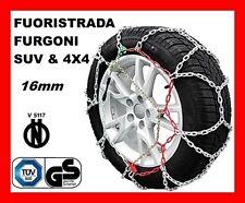 CATENE DA NEVE PER FURGONI E SUV OMOLOGATE 16MM MISURA PNEUMATICO 245/45 R19