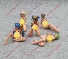 """gashapon anime gal game sexy naked mini girl PVC figure 5 types 3"""""""