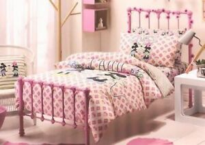 Mickey & Minnie Mouse J'aime by Arabella Ramsay Double Bed Quilt Cover Set