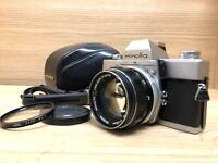 *Near Mint -* Minolta SRT101 Film Camera w/ MC Rokkor 58mm F/1.4 , Case From JPN