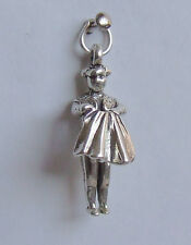 MATADOR SPANISH BULL FIGHTER SPAIN 3D CHARM 925 STERLING SILVER