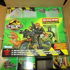 The Lost World Carter Dino-Snare Dirtbike Jurassic Park Action Figu SPESE GRATIS