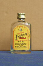BUNDABERG RUM MINIATURE GLASS BOTTLE 50ML
