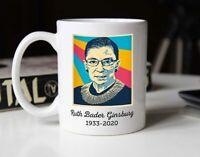 Ruth Bader Ginsburg Memorial Ceramic Cup The Notorious Rbg Coffee Mug Microwave