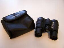 Tasco mini binoculars 1000 Yd 25-4x30. 643'@1000 Yds. Bk W/Case & Cloth.