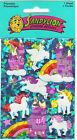 Sandylion Vintage Prismatic Unicorns Stickers 1 Maxi Sheet Factory Sealed