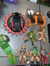 VINTAGE HE-MAN MOTU MASTERS OF THE UNIVERSE ACTION FIGURES LOT 1981-1985