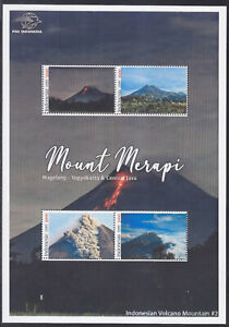 Indonesia - Indonesie Special New Issue 2021 Volcano Mountain Merapi (MS)