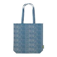Shopper Bag Washable  Reusable shopping blue/beige cotton bag IKEA TREBLAD NEW