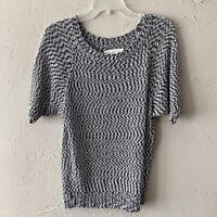 Ann Taylor Loft Short Sleeve Dolman Sweater Size Small Sparkle