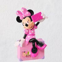Disney Minnie Mouse Snappin' a Selfie 2018 Hallmark Ornament